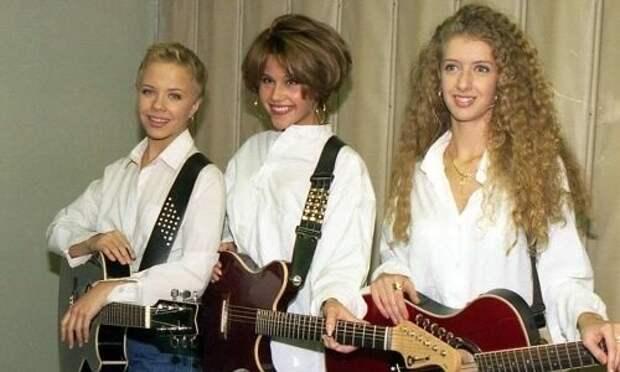 Группа Лицей в начале 90-х годов
