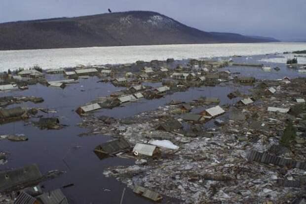 Город, который ушел под воду: 20 лет назад произошло страшное наводнение в Ленске