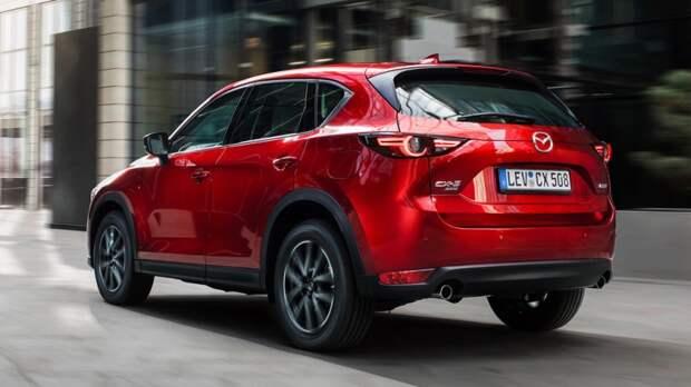 Новый кроссовер от Mazda выехал на испытания