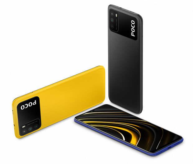 Представлен недорогой долгоиграющий смартфон Poco M3
