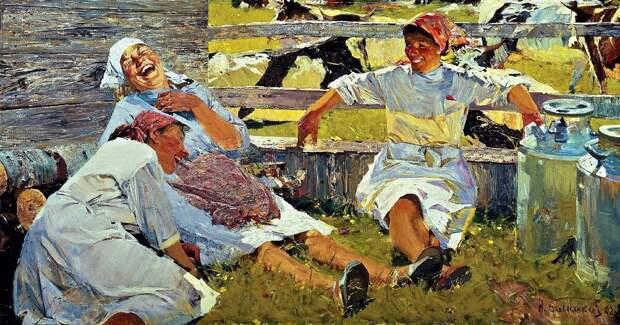 Художник Николай Николаевич Баскаков: за рамками соцреализма