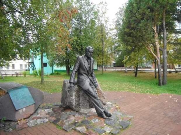 Памятник Гердту в Себеже./Фото: www.static.panoramio.com