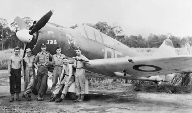 Осенью 1943 года началось боевое использование истребителя австралийской конструкции Boomerang в роли лёгкого штурмовика. На фото — самолёт 4-й эскадрильи Королевских Австралийских ВВС, активно действовавшей на Новой Гвинее awm.gov.au - «Адский остров»: трагедия 18-й японской армии | Военно-исторический портал Warspot.ru