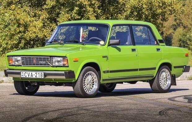 """Экспортная """"Lada Nova"""" для венгерского рынка. В чем отличия от обычной ВАЗ 2105"""