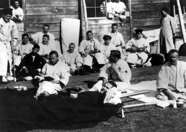 Русские военнопленные в Японии. 1905 г.
