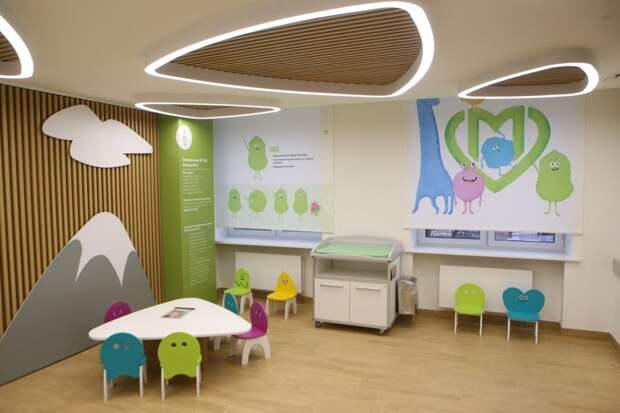 В Юго-Восточном округе начался капремонт трёх детских поликлиник