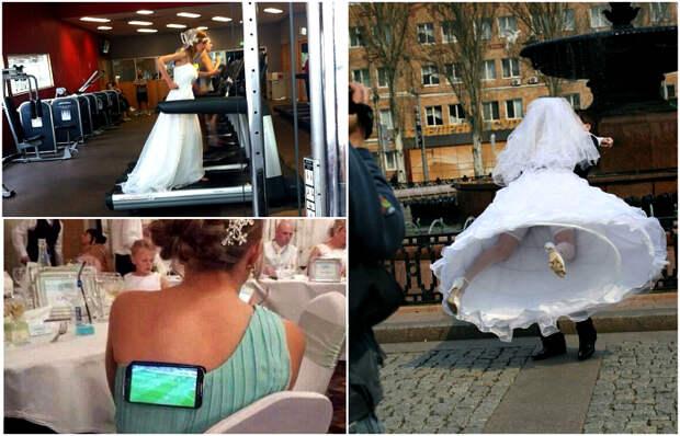 Уморительные снимки, на которых запечатлены самые яркие свадебные моменты.