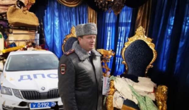 Арестованный глава ГИБДД Ставрополья Сафонов назвал владельца роскошного особняка