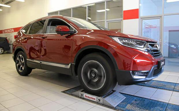 Honda CR-V на роликах: дубль два