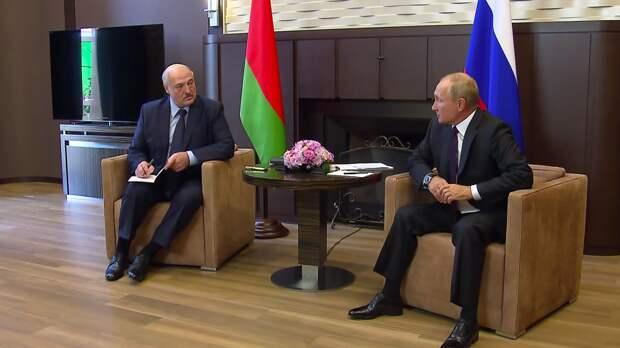 Путин и Лукашенко обсудили аспекты экономического сотрудничества