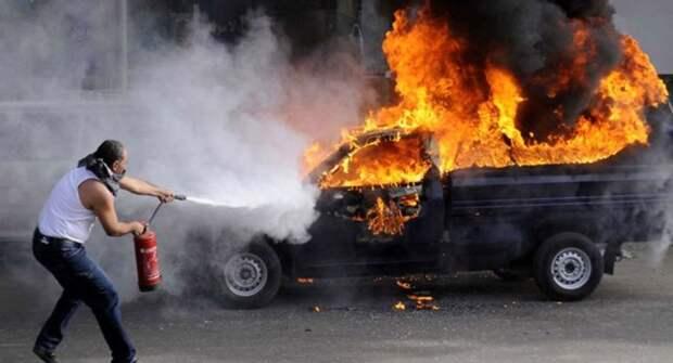 ТОП-5 причин возгорания автомобиля