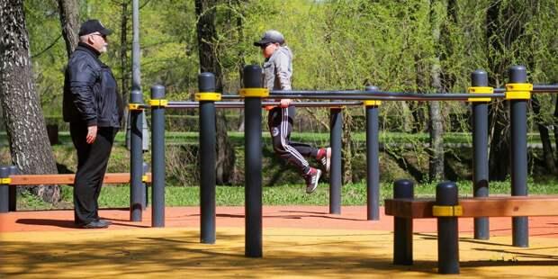 Сезон воркаута открылся в парке «Митино»