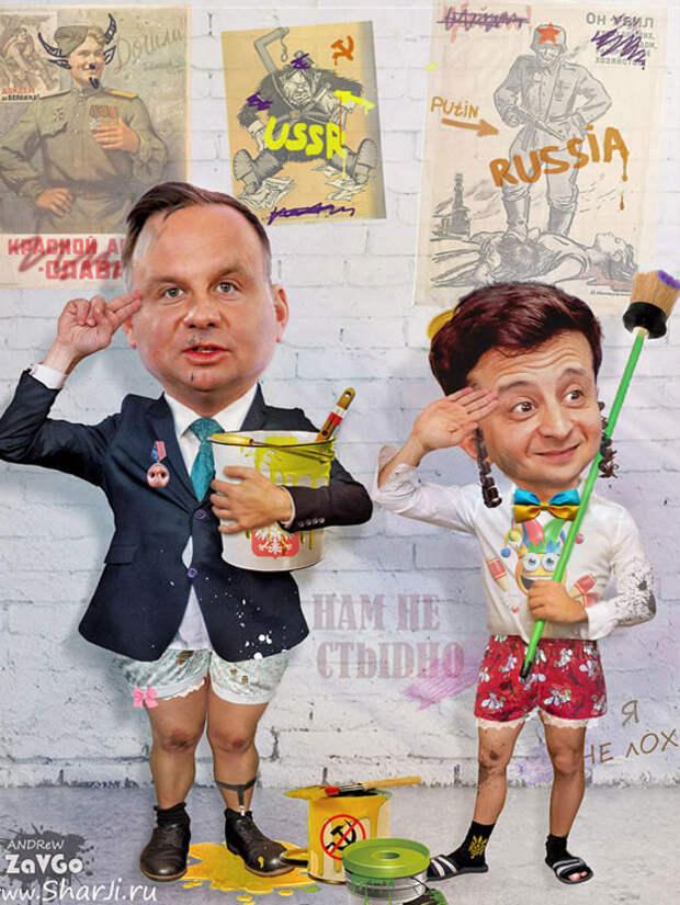 Так вот оно чё, Михалыч! Хотели хапнуть, а тут Путин. Польские откровения
