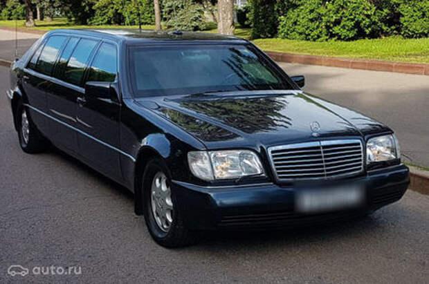 Лимузин Бориса Ельцина продается за 500 000 евро
