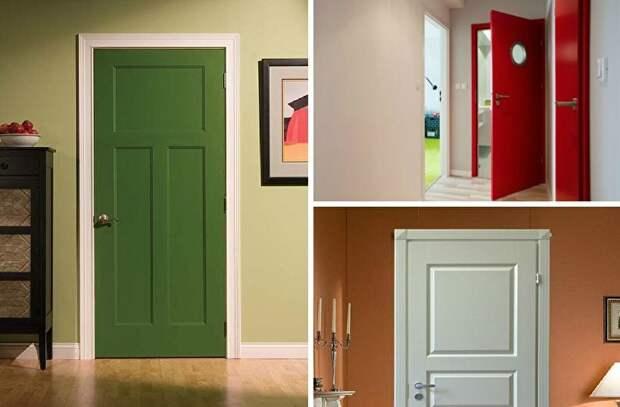 Несколько отличных идей по обновлению старых дверей