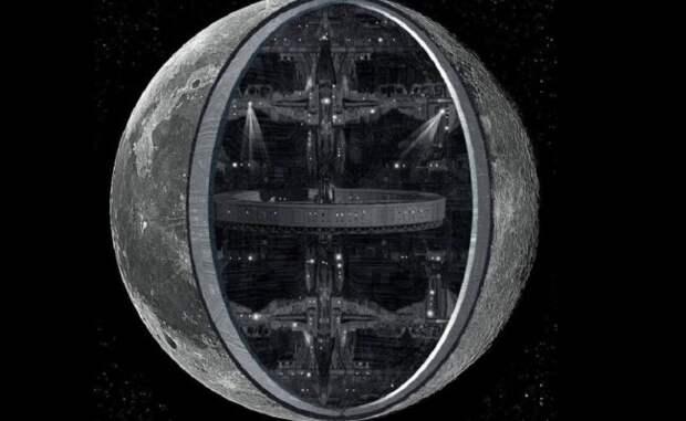 Луна – искусственный спутник Земли?