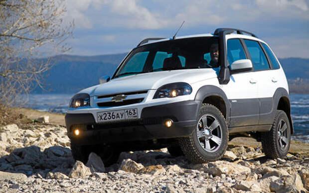 GM-АВТОВАЗ повышает цены на Chevrolet Niva