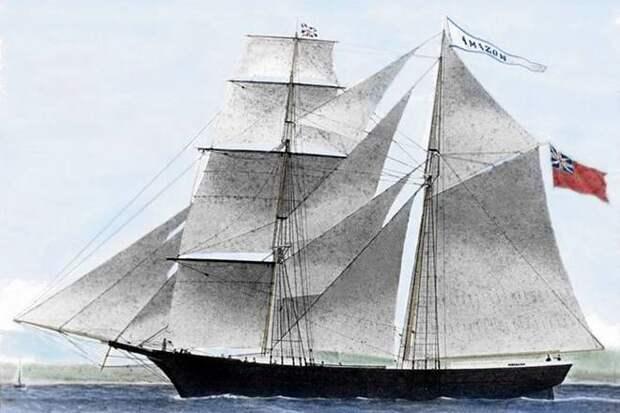 Американское торговое судно Mary Celeste