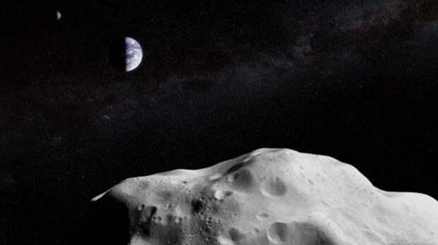 В РАН оценили вероятность падения астероида на Землю
