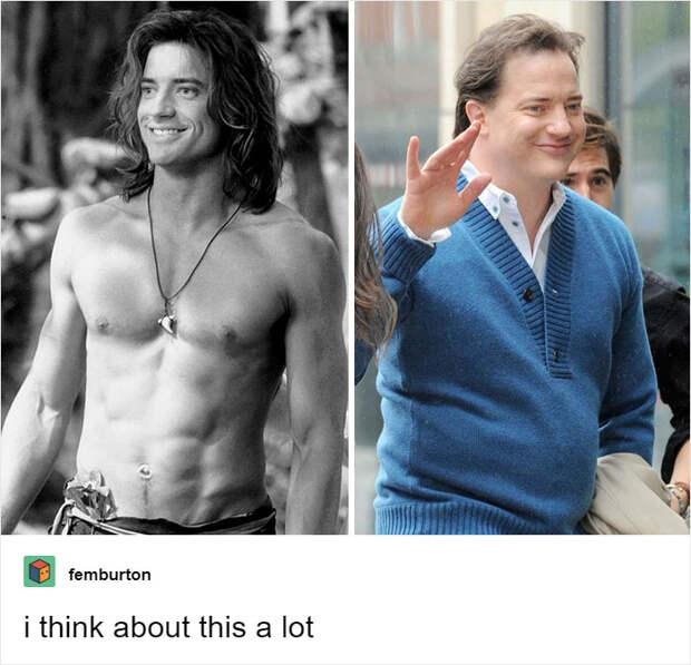 Не узнать! 7 актеров, которые с годами изменились до неузнаваемости