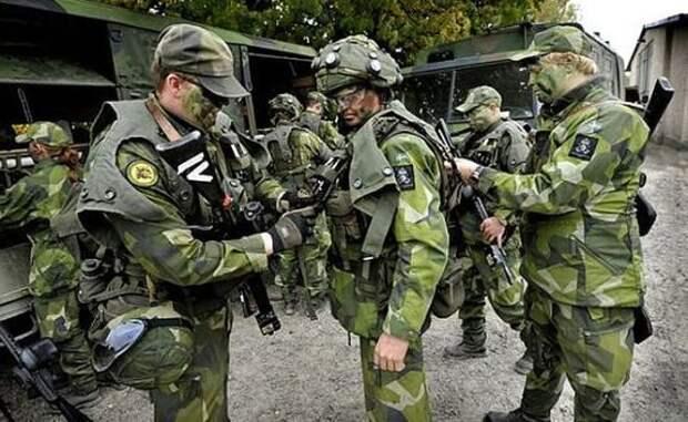 Шведы готовятся к войне с Россией