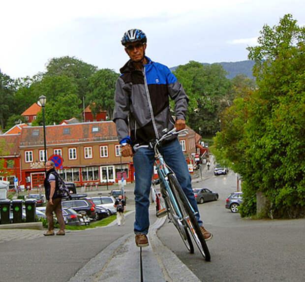 Подъемник для велосипедистов