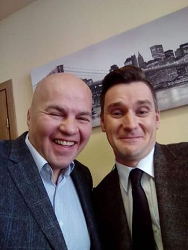 На российском ТВ Ковтуна заставили перейти на украинский язык