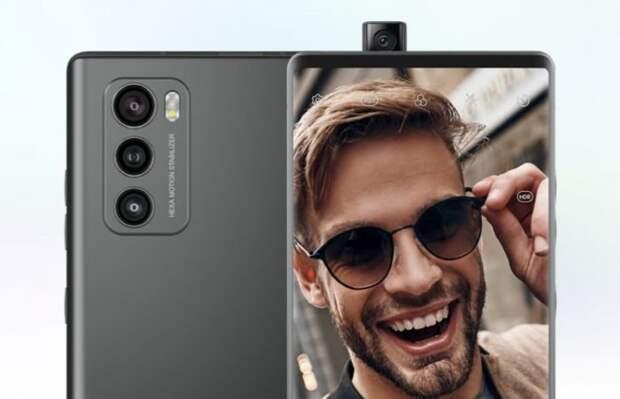 LG представила смартфон с поворотным дисплеем