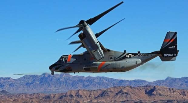 Конвертоплан V-22 Osprey: дорог, ненадежен, но очень востребован