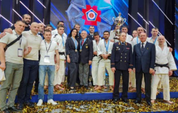 Команда МВД России одержала победу в Международном турнире по дзюдо