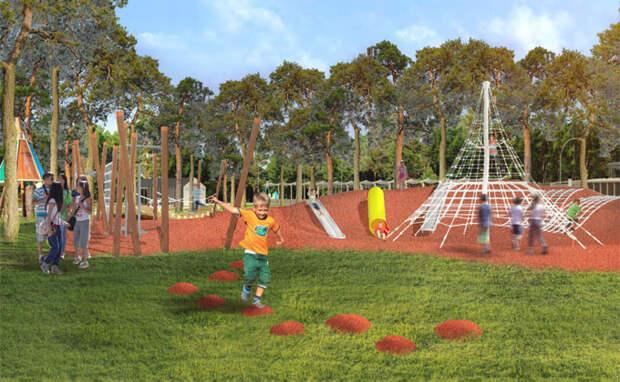Реконструкцию Заельцовского парка завершат досрочно