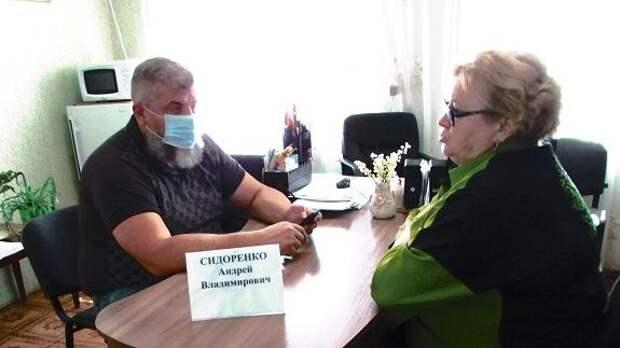 Андрей Сидоренко провел выездной прием граждан в Стальненском  сельском поселении