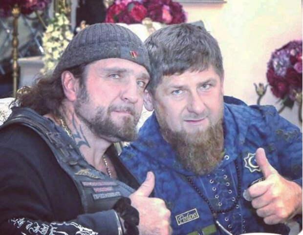 Кадыров поддержал байкера Хирурга в споре с Райкиным