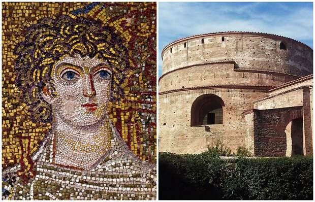 Какие тайны хранит самая древняя ротонда Греции с золотыми мозайками, и Почёму её называют малым пантеоном Греции