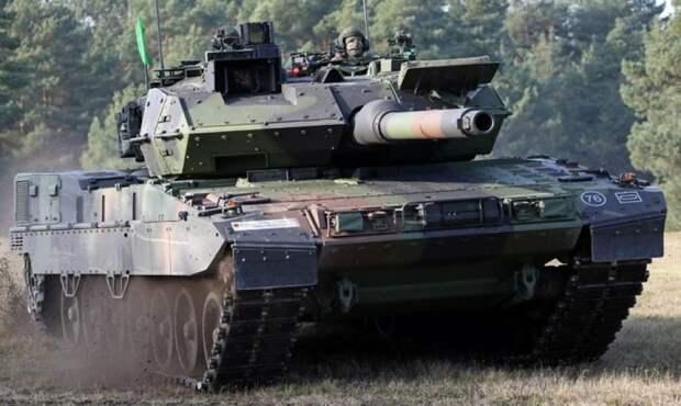 Немцы вооружились новой версией танка «Леопард»