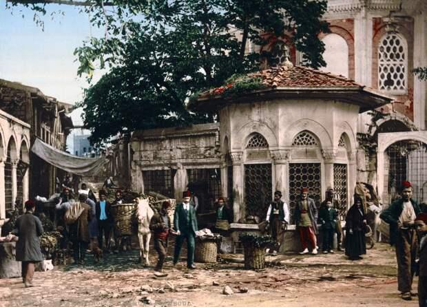 Цветные открытки Константинополя 15