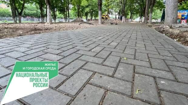 В Бахчисарае заканчивается капитальный ремонт в парке «Севастопольских курсантов»