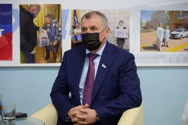 Константинов: «Мы наблюдаем интенсивное наполнение водой крымских водохранилищ»
