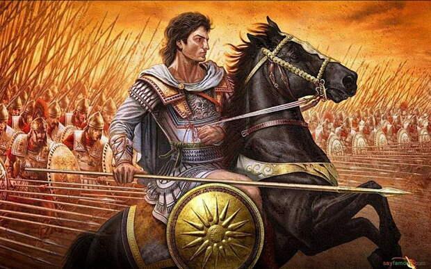 Александр Македонский. Картина современного художника