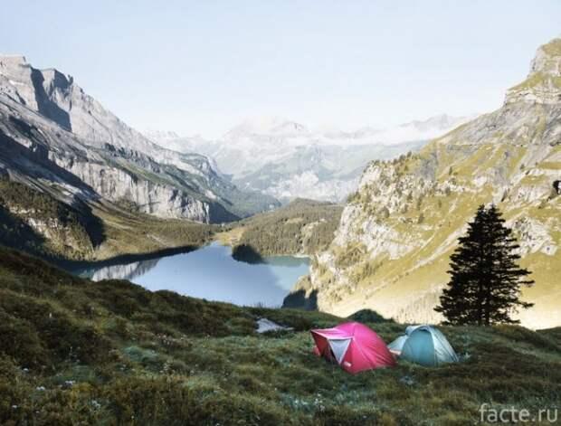 Отдых на свежем воздухе без вреда для природы