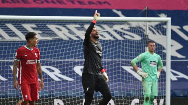 Алисон стал первымголкипером в истории «Ливерпуля», забившим в официальном матче