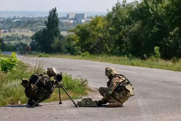 Украинские военные сбили собственный беспилотник в Донбассе