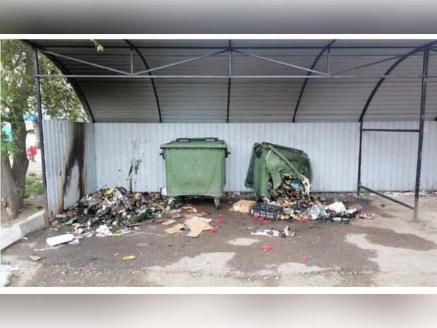 Неизвестные подожгли мусорные контейнеры в Железнодорожном районе Читы
