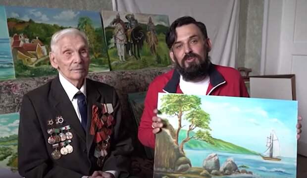 Добровольцы помогли ветерану найти могилу старшего брата
