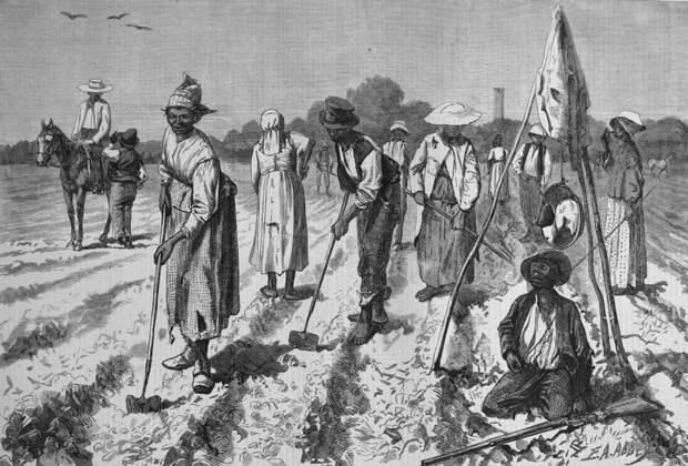 Рабство Юга США до и после Гражданской войны