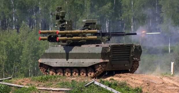 Что стоит за шумихой вокруг робототехнического танка «Штурм»