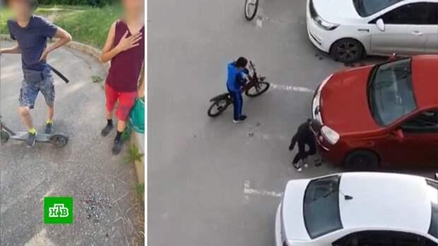 Новый челлендж из TikTok: зачем подростки по всей стране воруют автомобильные колпачки