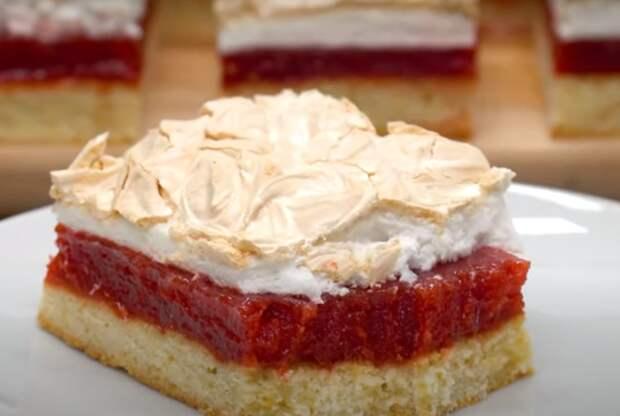Потрясающее пирожное «Три слоя»