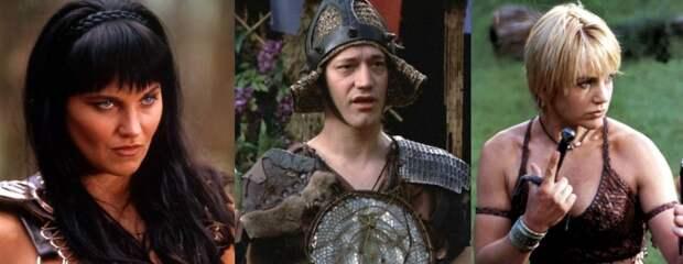Актеры изсериала «Зена. Королева воинов» тогда исейчас
