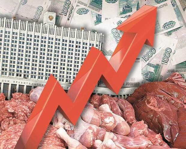 В России продолжается рост цен на стройматериалы и продукты питания